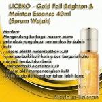 liceko gold foil (serum wajah)