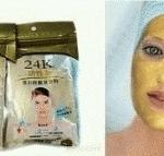 masker bubuk 24 K wajah