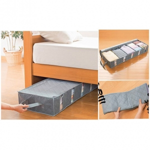 under bed storage box organizer murah