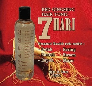 red ginseng tonic murah