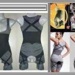 Bamboo Slimming Suit Abu2 Korset Pelangsing 75rb